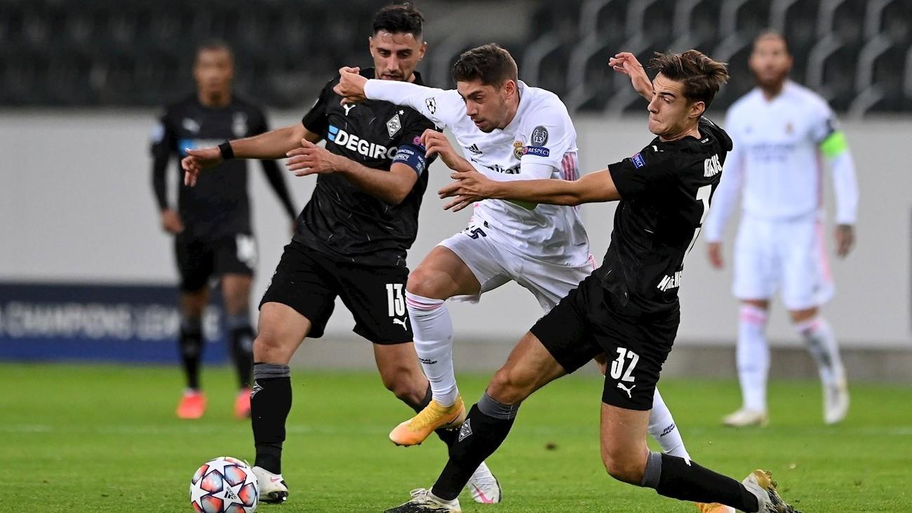 2-2. La fe y el orgullo evitan la derrota del Real Madrid ante el Monchengladbach