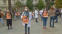 """Primera  huelga de médicos en 25 años: """"El sistema ha hecho aguas durante la pandemia"""""""