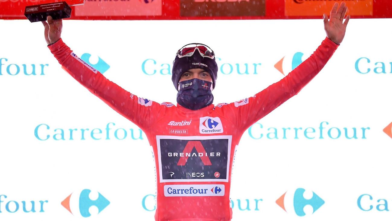Carapaz, así es el líder de la Vuelta