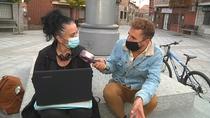 Los vecinos de Fresnedillas se quejan de la falta de cobertura en el pueblo
