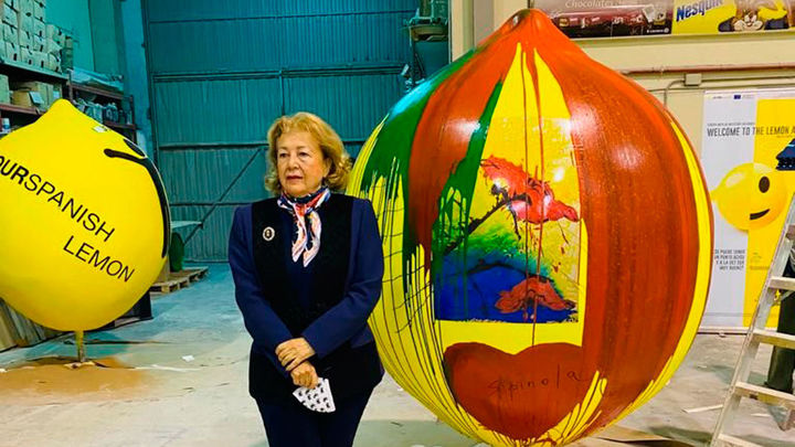 Los limones gigantes invaden Madrid