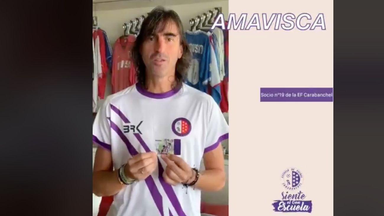 Amavisca, el ilustre socio del EF Carabanchel