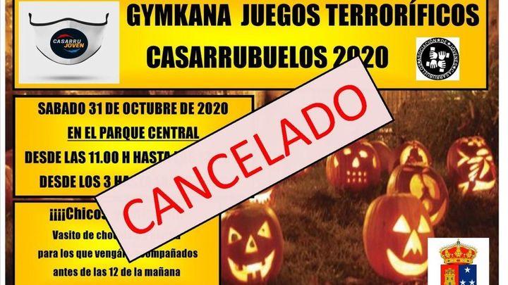 Casarrubuelos suspende las fiestas de Halloween para evitar contagios