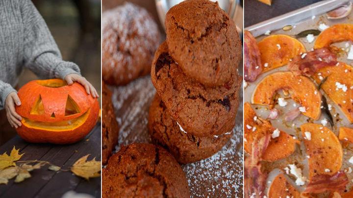 Tres recetas para sorprender a la familia en Halloween