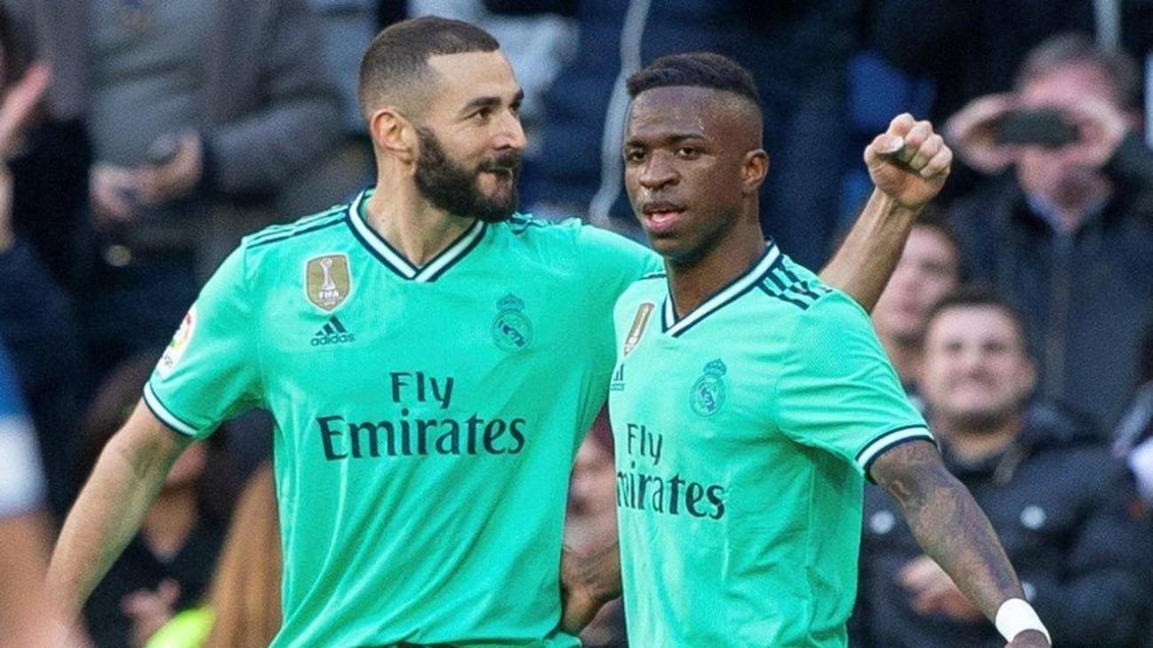"""Supuestas palabras de Benzema sobre Vinicius: """"Juega contra nosotros"""""""
