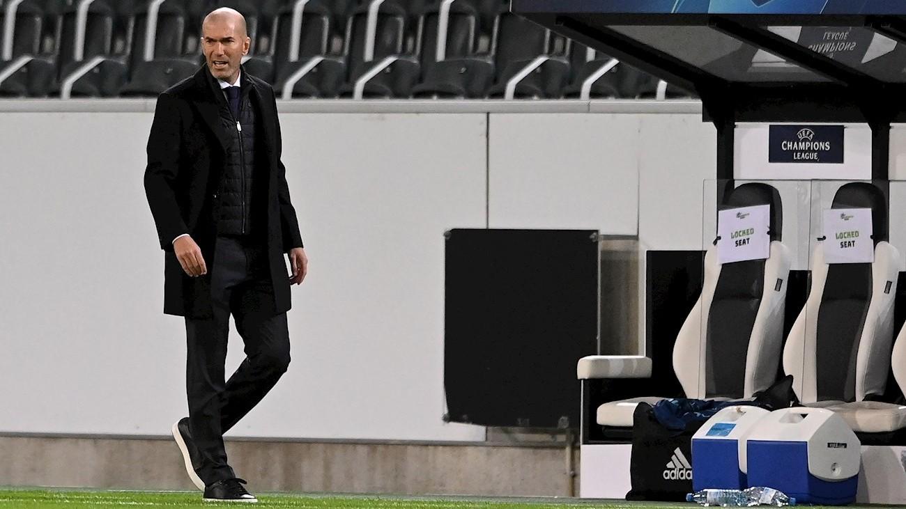 """Zidane: """"La reacción ante el Gladbach habla del carácter del equipo"""""""