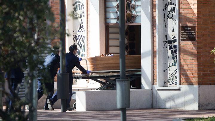Huelga de los trabajadores de la funeraria municipal de Madrid el Día de Todos los Santos