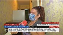 Una vecina de Fuenlabrada, al cuidado de su madre de 82 años y tres hijas, a punto de ser desahuciada