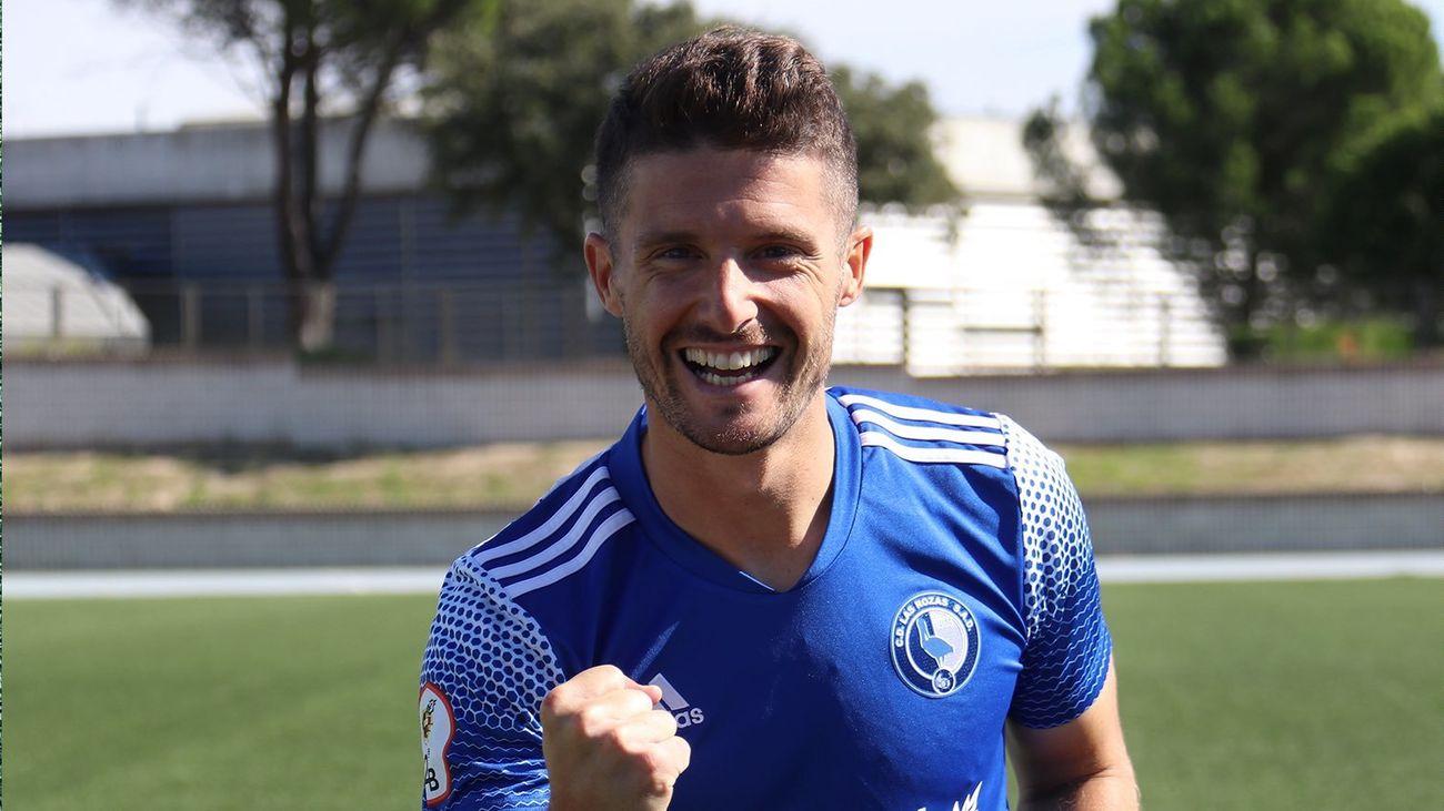 Carlos Indiano, jugador de Las Rozas