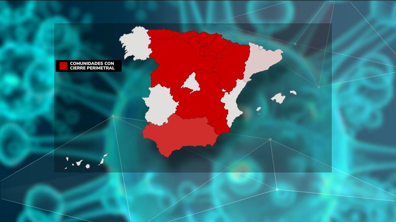 Cataluña se confina 15 días y se suma a las nueve Comunidades que han decretado cierres
