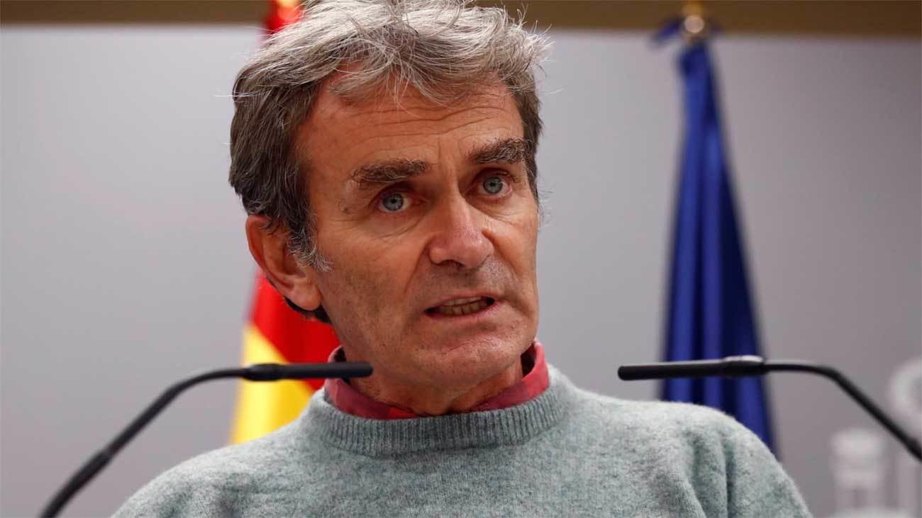 Simón reconoce que la evolución de Madrid es favorable