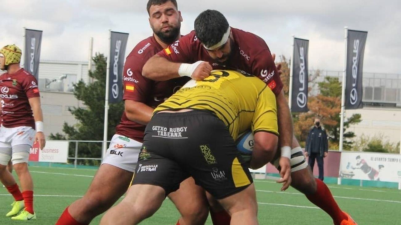 Alcobendas Rugby ante el Getxo
