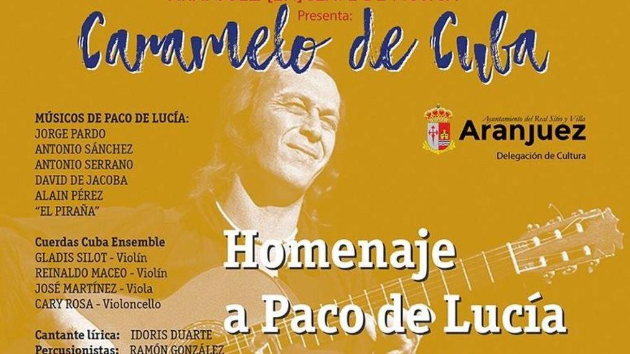 Concierto homenaje a Paco de Lucía
