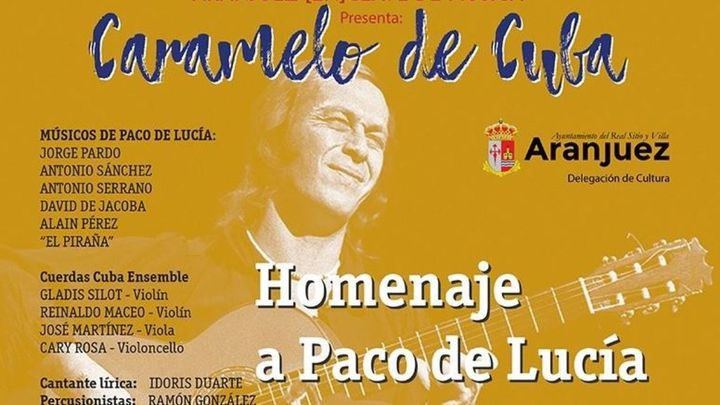 Concierto homenaje a Paco de Lucía en Aranjuez