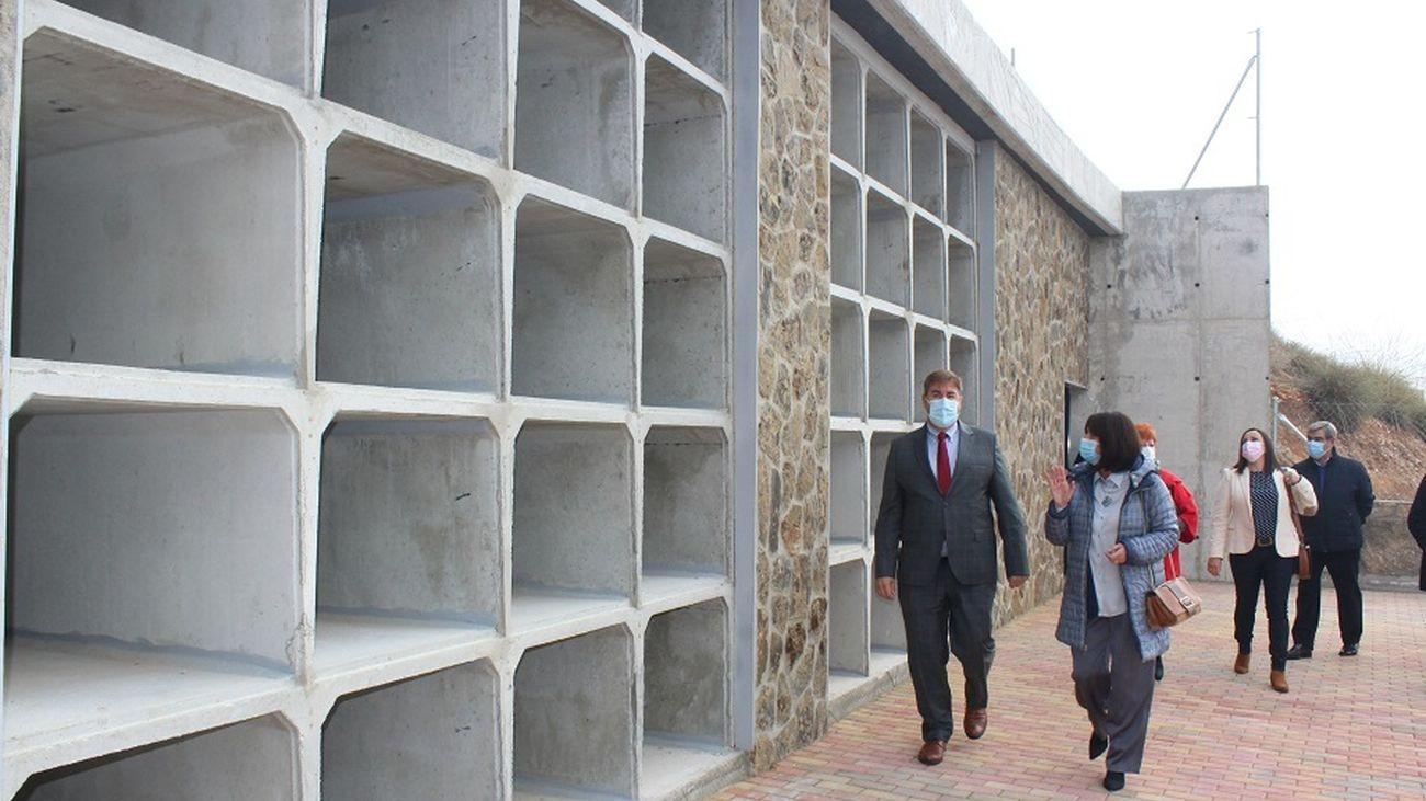 Perales de Tajuña abre su nuevo cementerio coincidiendo con el día de Todos los Santos