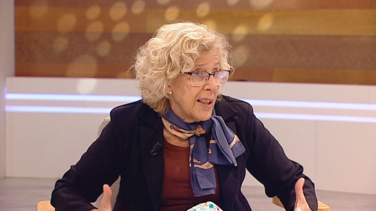 Manuela Carmena, ex alcaldesa de Madrid, en Café y Parole con Euprepio Padula