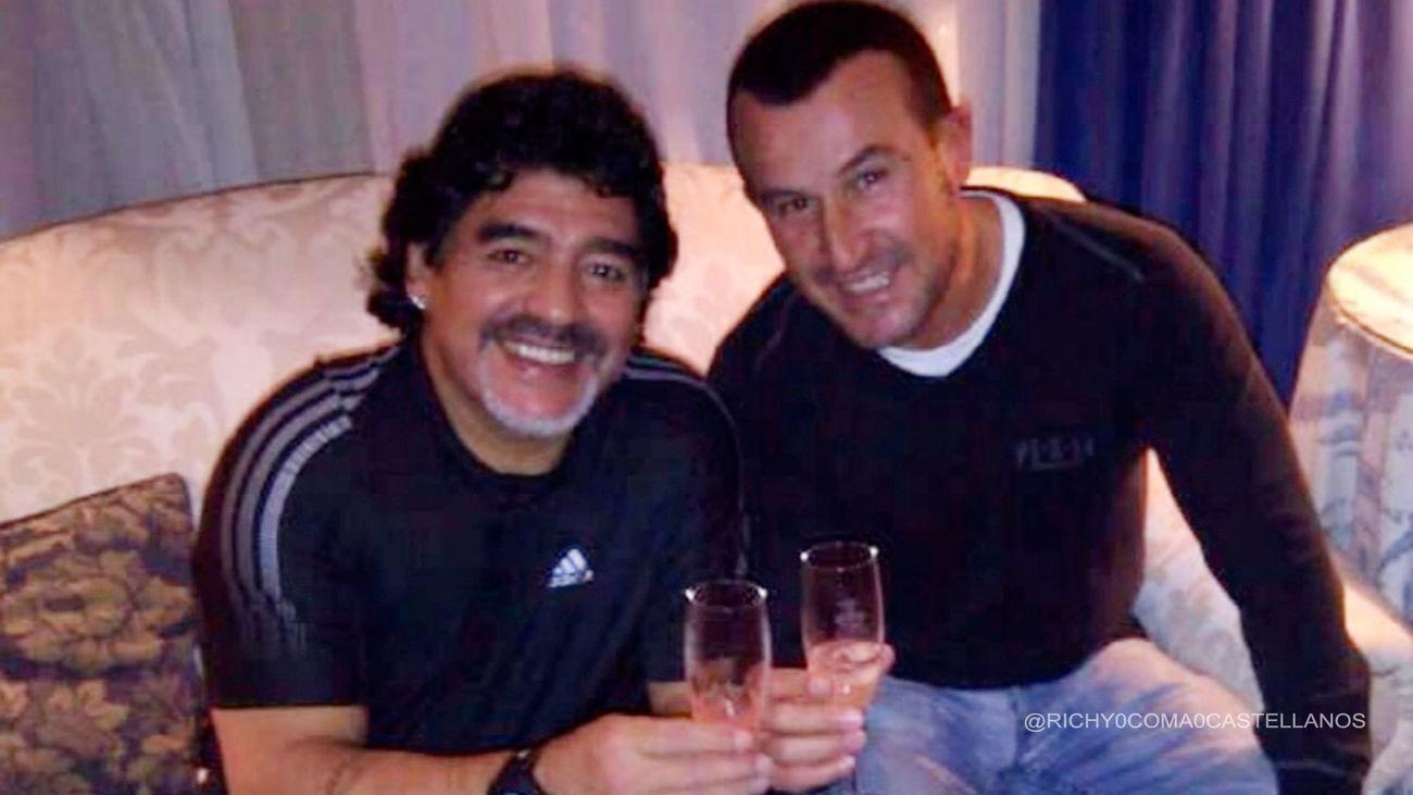Richy Castellanos rinde homenaje a Maradona en su 60 cumpleaños