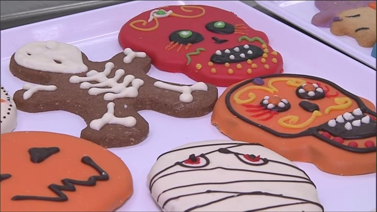 Galletas para Halloween con diseños terroríficos