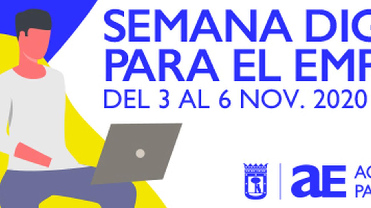 Ya puedes inscribirte en la Semana Digital para el Empleo de Madrid