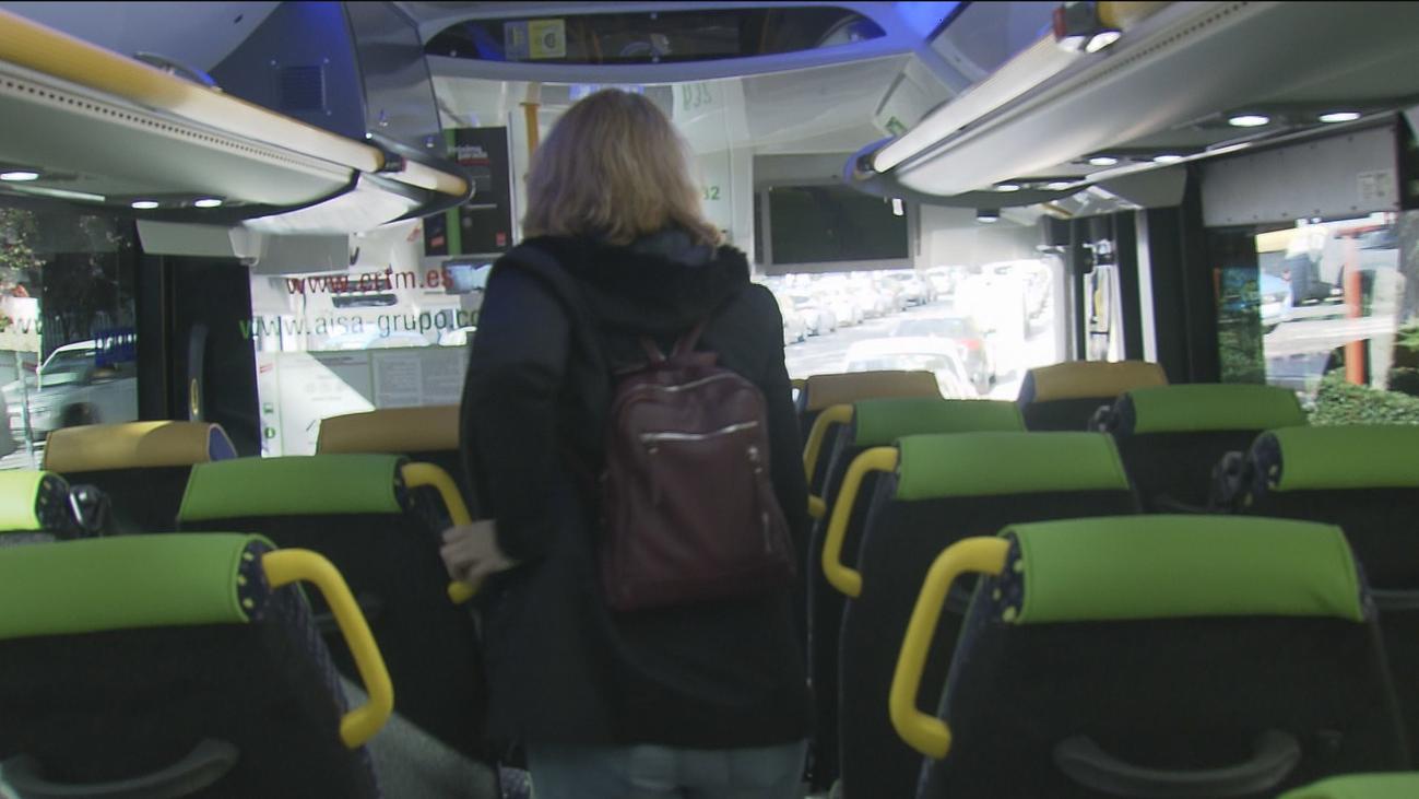 Todas las líneas de autobuses nocturnos interurbanos con paradas a demanda