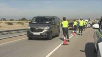 Segundo día de controles selectivos en las carreteras con menor afluencia de tráfico