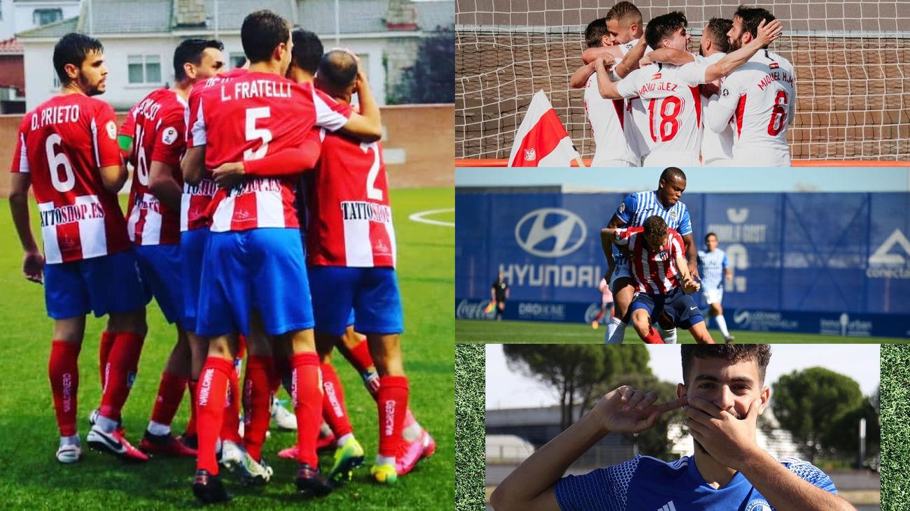 CDA Navalcarnero, UD Sanse, Las Rozas y Atleti B
