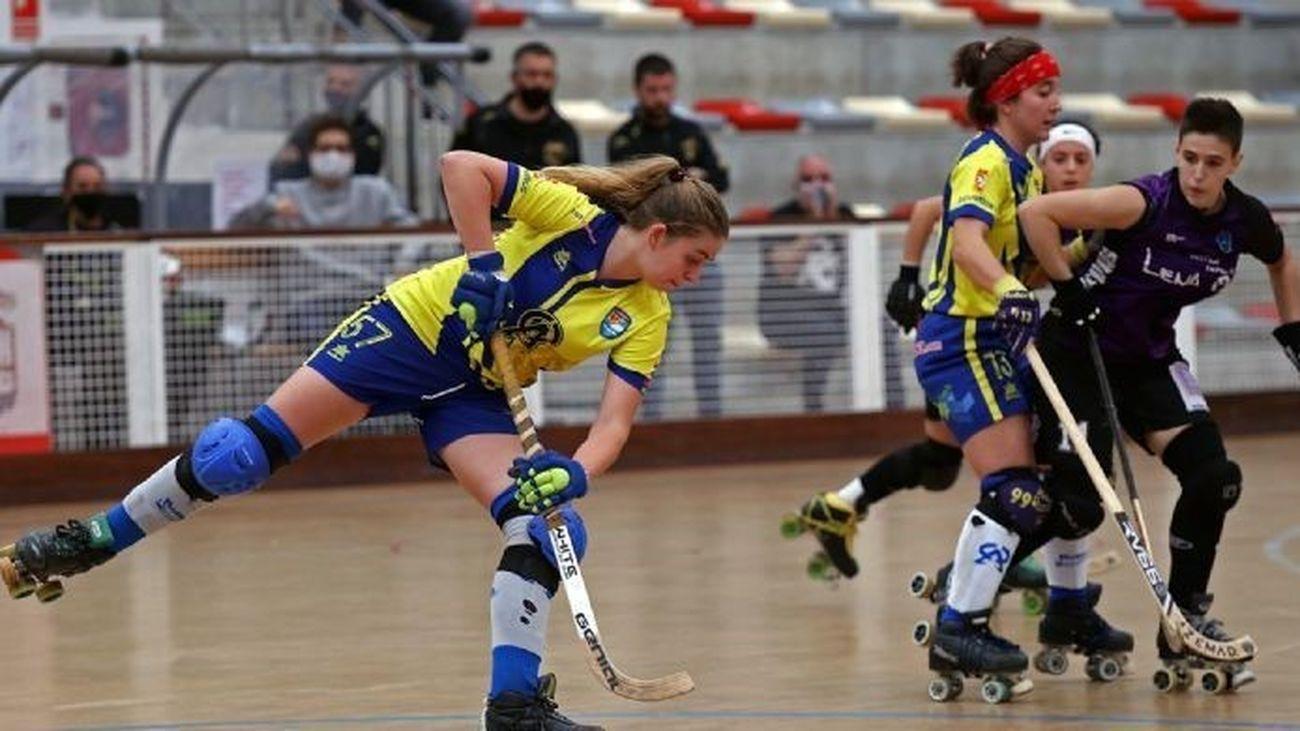 El Alcorcón se lleva el derbi ante las Rozas en la Liga de hockey patines