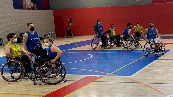 Ilunion, primer líder de la Liga de baloncesto en silla de ruedas