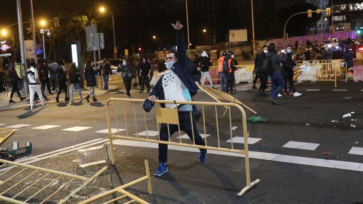 33 detenidos y 3 policías heridos por los disturbios en el centro de Madrid