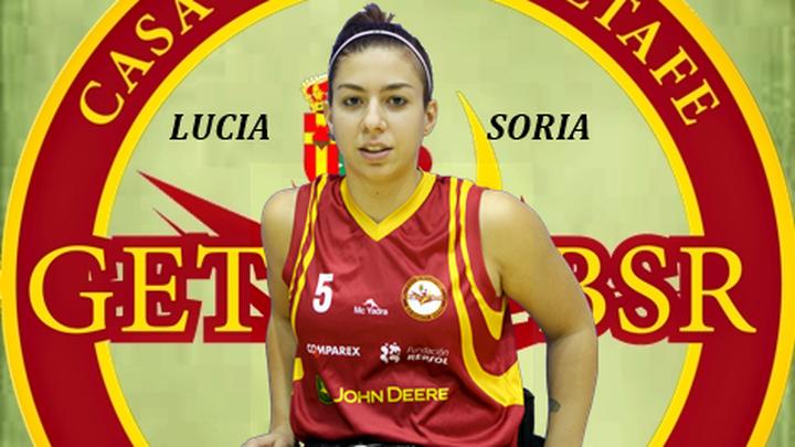 """Lucía Soria, del Getafe BSR: """"Va a ser una liga muy competida hasta el final"""""""