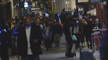 Noche de Halloween atestada de gente en la capital