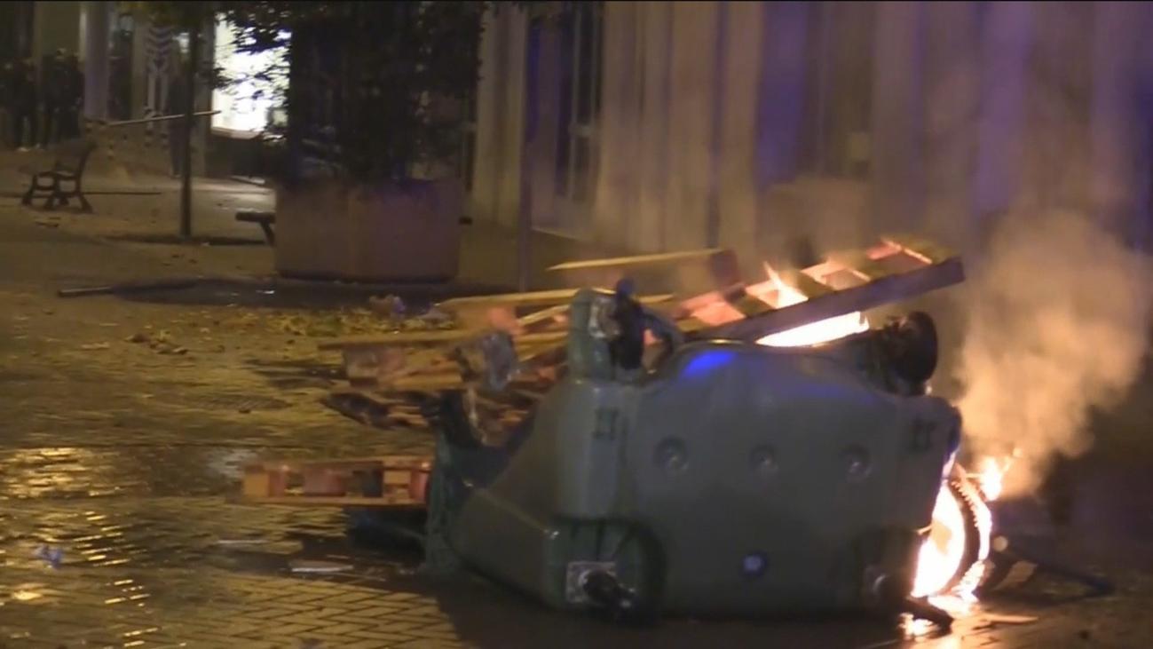 La Policía apunta a un grupúsculo de ideología neonazi como el causante de los disturbios en Madrid
