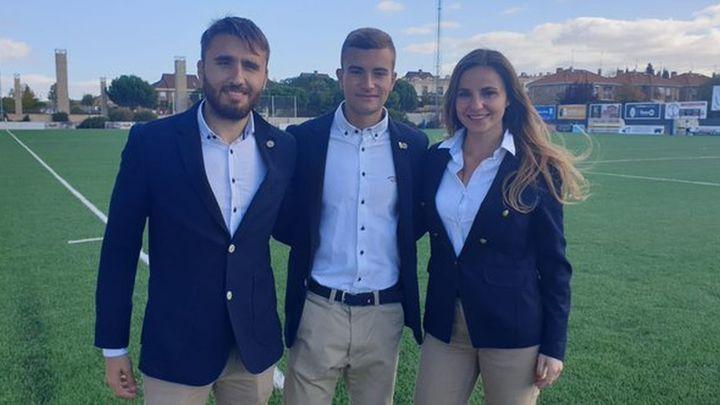 Ángel Vicente Juárez, con 18 años, debuta como árbitro en Tercera