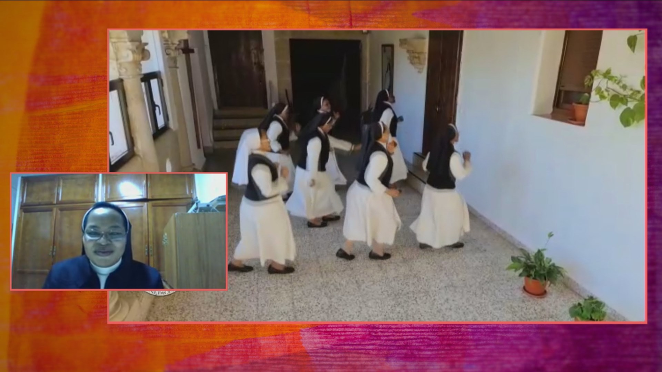 Las monjas de clausura de Trujillo animan al mundo al ritmo de 'Jerusalema'