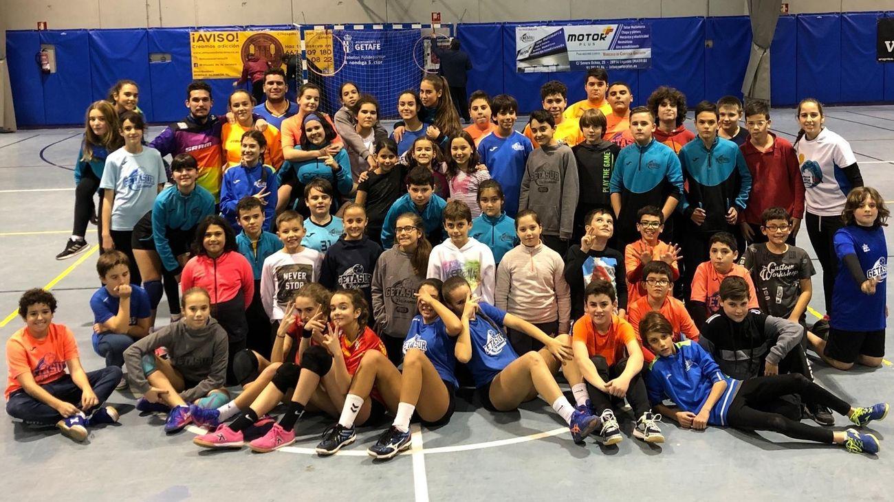 BM Getasur lanza la campaña 'Formamos deportistas. Formamos personas'