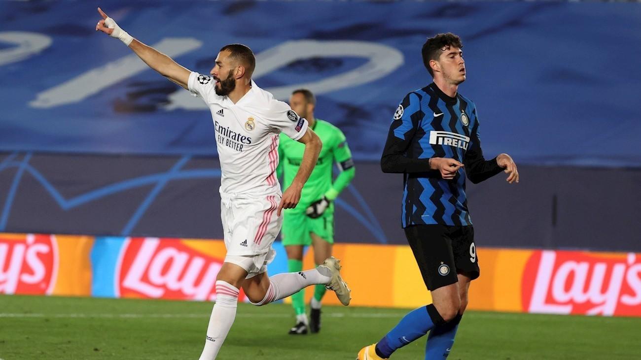 3-2. El Real Madrid gana al Inter y sigue vivo en la Champions