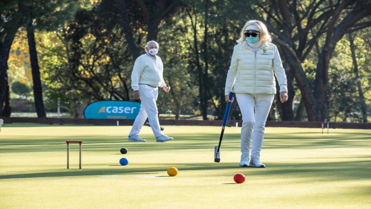 Croquet, el nuevo deporte de moda en Madrid
