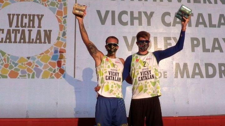 Jiménez-Brentegani y Esarte-Matveeva ganan la segunda cita de la Liga de Invierno de Voley Playa
