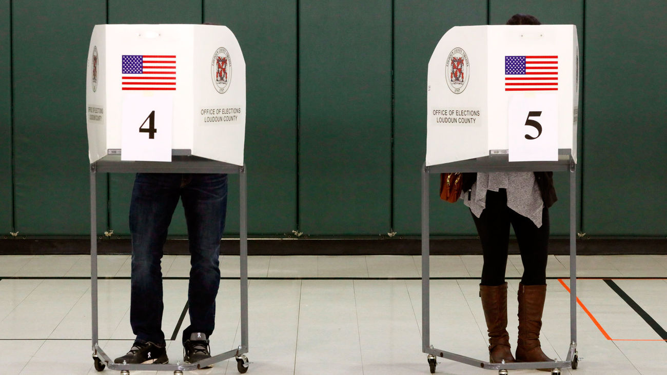 Día de votación en Estados Unidos que elige su próximo presidente