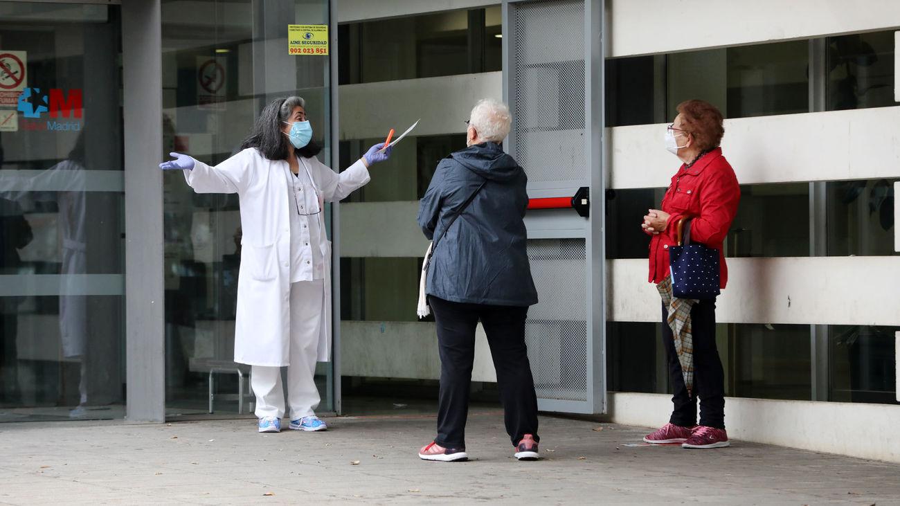 Centro de salud Doctor Tamames, en Coslada