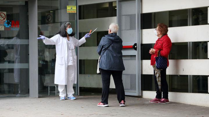 Nace el 'botón covid' en Madrid para atender con más rapidez a los pacientes con sospecha de contagio
