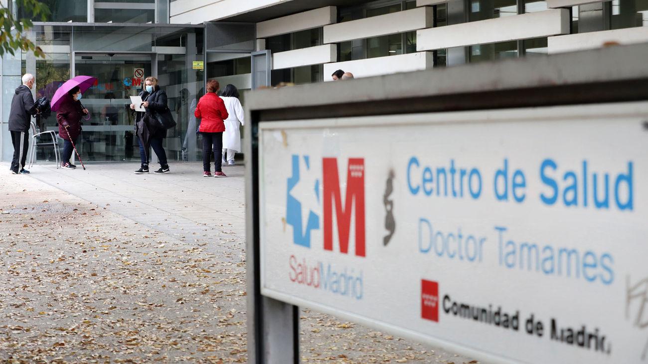Centro de salud Doctor Tamames de Coslada