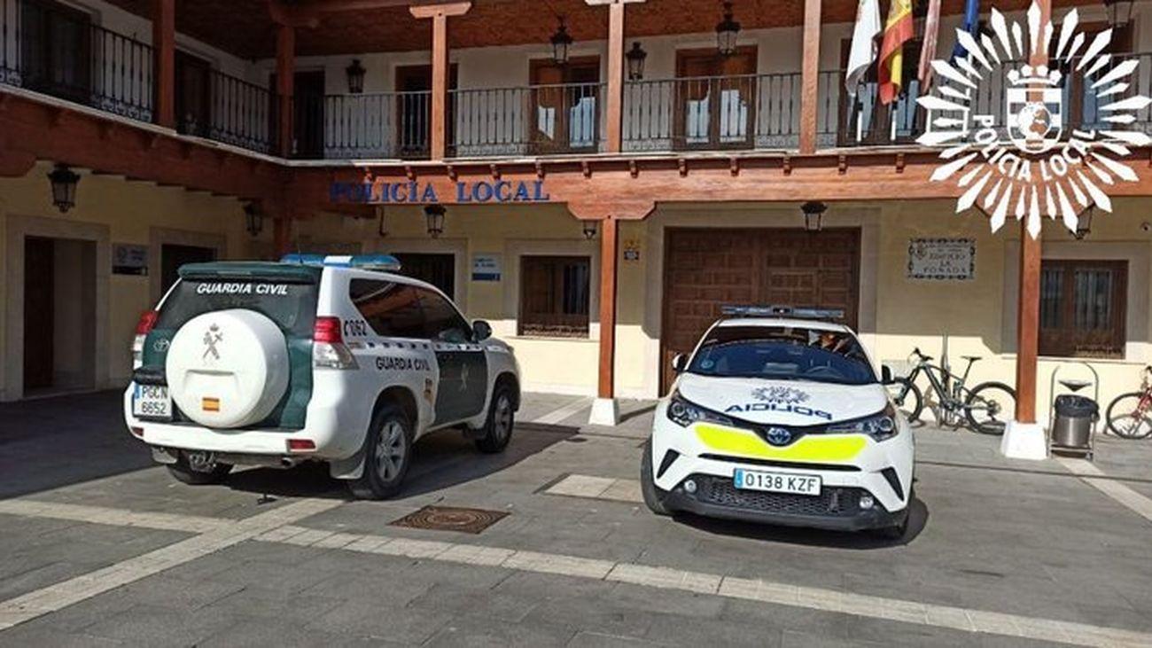 Exteriores sede Policía Local de Pinto