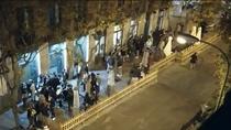 Conflicto en la calle Ponzano entre vecinos y hosteleros por los ruidos, suciedad e incumplimiento en las terrazas
