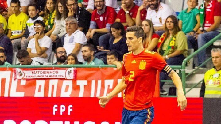 """Carlos Ortiz: """"Mi ilusión sigue siendo jugar el Mundial con España"""""""