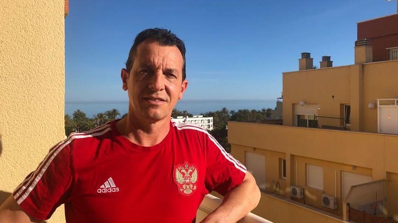 Paulino Granero, preparador físico de la selección rusa