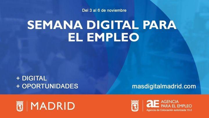 Acciona ofrecerá formación a mujeres desempleadas en la Semana Digital para el Empleo de Madrid