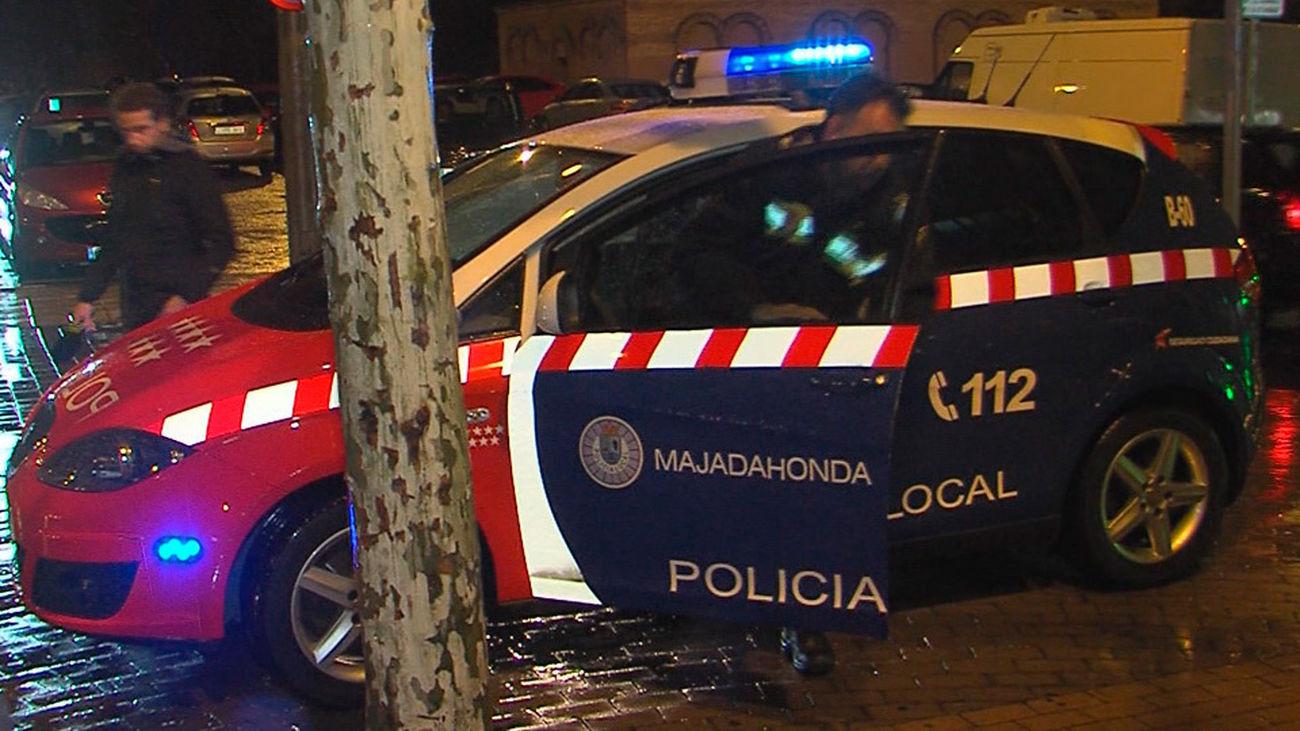 Intervención de la Policía Local de Majadahonda