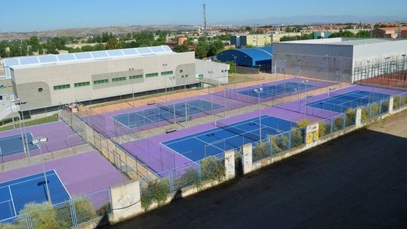 Pistas de tenis de Mejorada del Campo