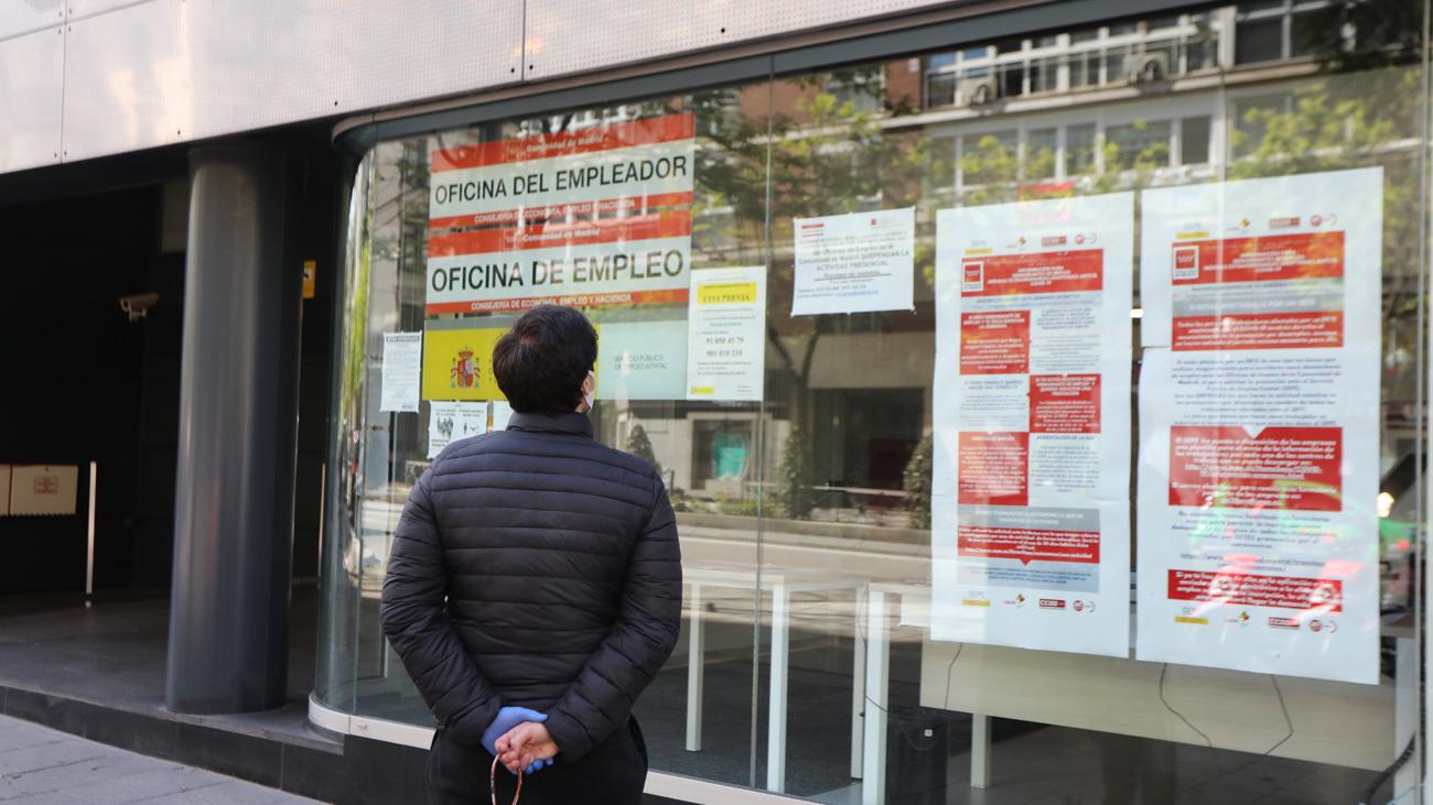 El paro aumenta en octubre en Madrid  con 5.997 desempleados más